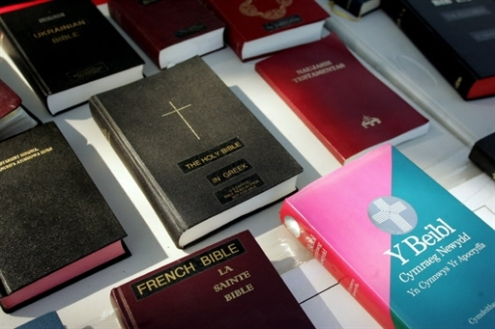 US-NATIONAL PRAYER DAY-BIBLES