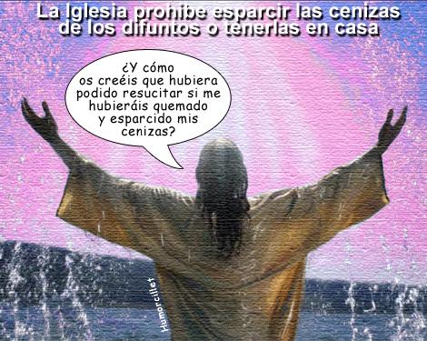 cenizas jesus