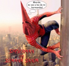 spiderman santa copia