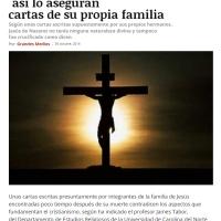 Jesús no era hijo de Dios