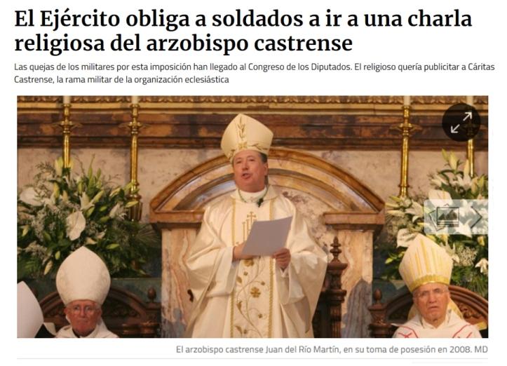 religion ejercito
