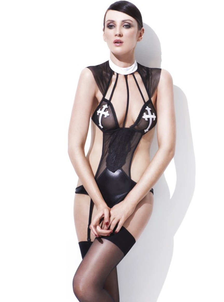 nun-with-bad-habits-lingerie-set