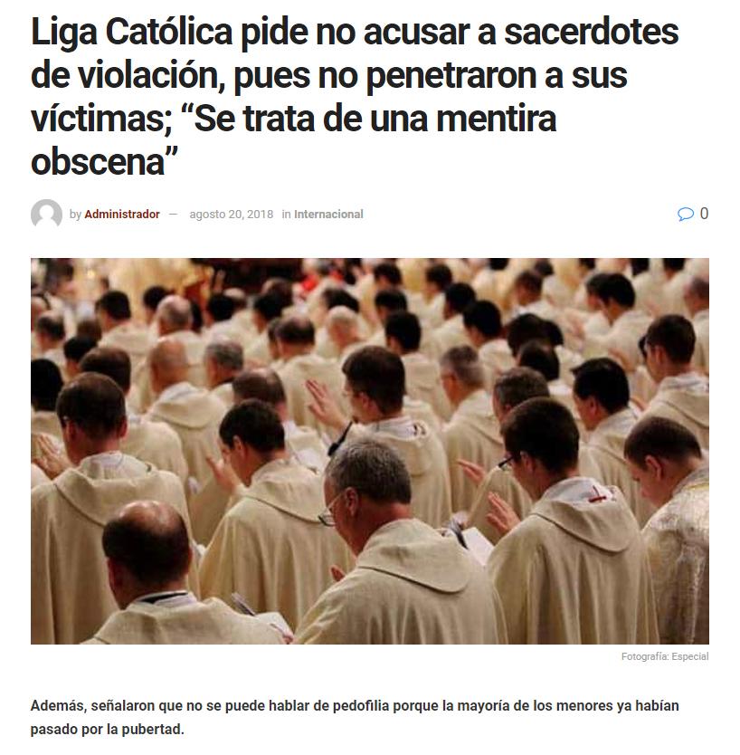 liga católica