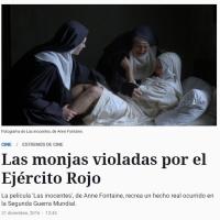 El Ejército Rojo y las monjas violadas