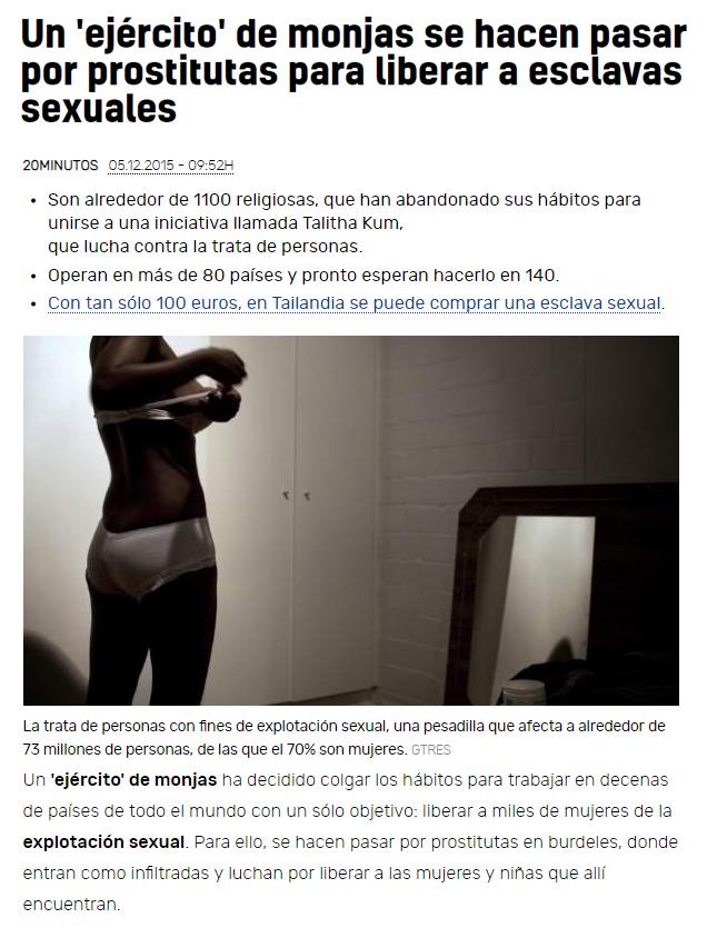 monjas prostitutas
