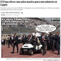 El Papa Francisco, un blanco perfecto