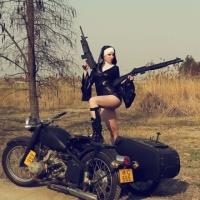 Una monja muy guerrera