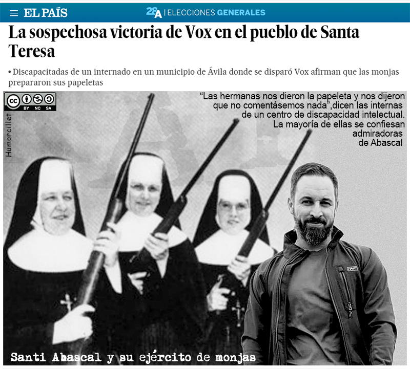 ejercito monjas