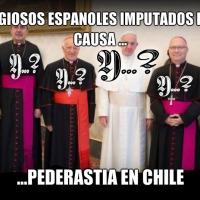 Religiosos españoles imputados por pederastia en Chile