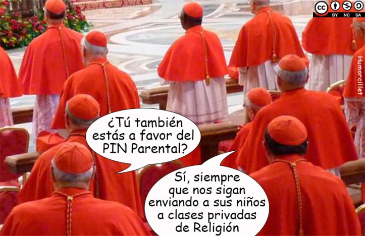 pin parental religión