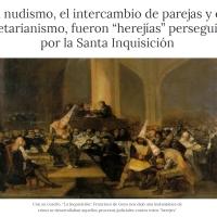 Herejías perseguidas por la Santa Inquisición