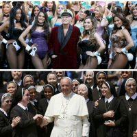 El imperio Playboy y el imperio Vaticano